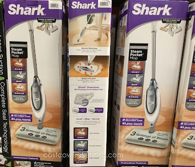 Costco 1009999 - Shark Professional Steam Pocket Mop - 2 distinct sides of cleaning designed for outstanding performance