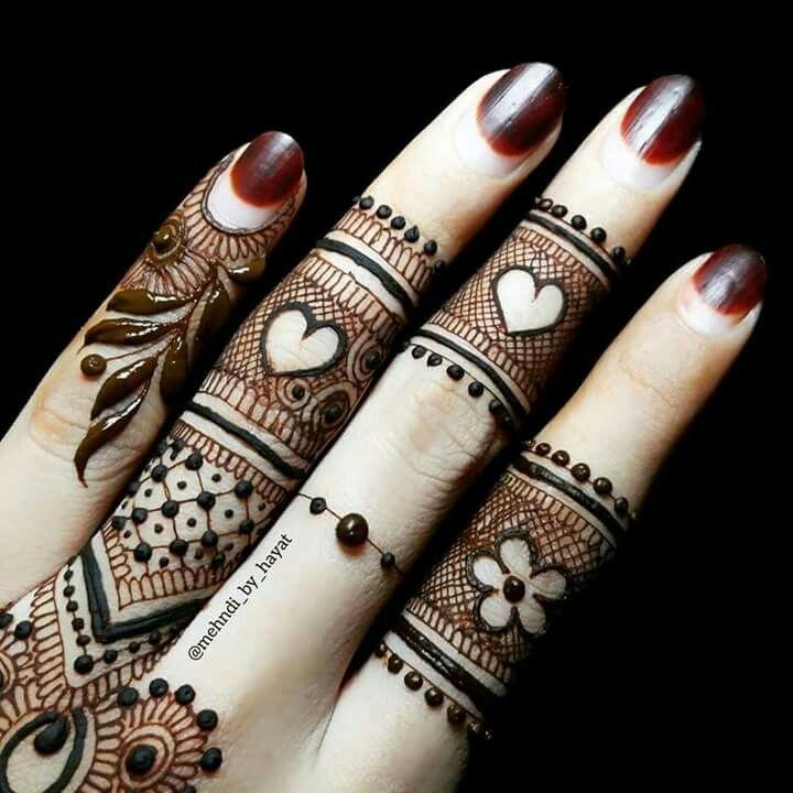Cute Henna Heart Designs Www Picswe Com