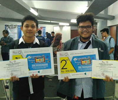 Juara 1 lomba internal programming Stikom