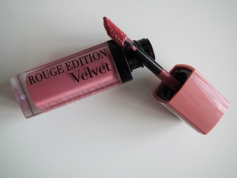April Favourites Bourjois Rouge Velvet Edition