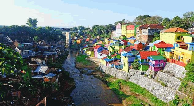 Destinasi Wisata Jodipan Malang