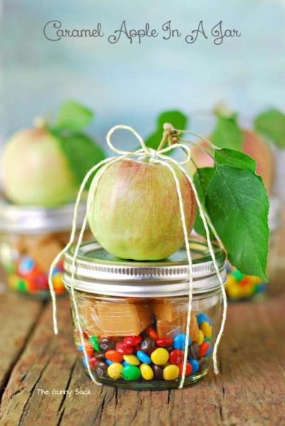 Caramel Apple In A Jar. Foto: thegunnysack