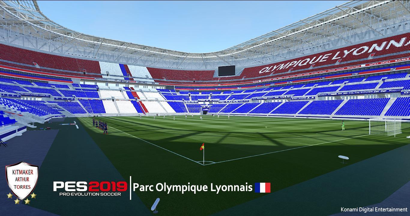 PES 2019 Parc Olympique Lyonnais (Lyon) by Arthur Torres
