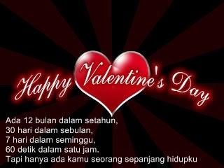 Kata Ucapan Hari Valentine Day