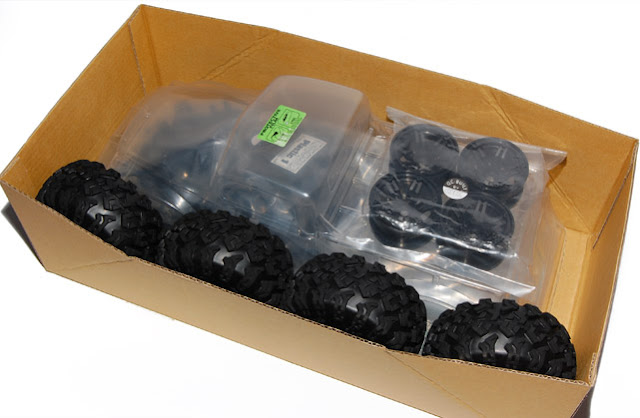 Axial AX10 Scorpion box of parts