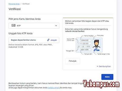 cara verifikasi akun real octafx menggunakan ktp sim