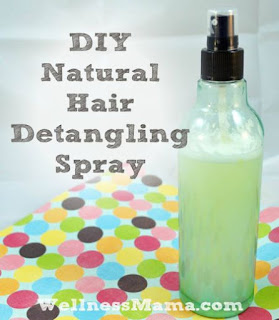 DIY Detangling Spray