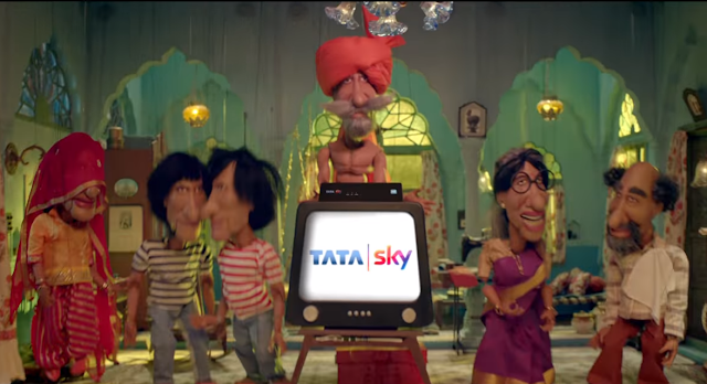 Photo of Amitabh Bachchan seen in 7 new Avatars in Tata Sky's Family Jingalala campaign