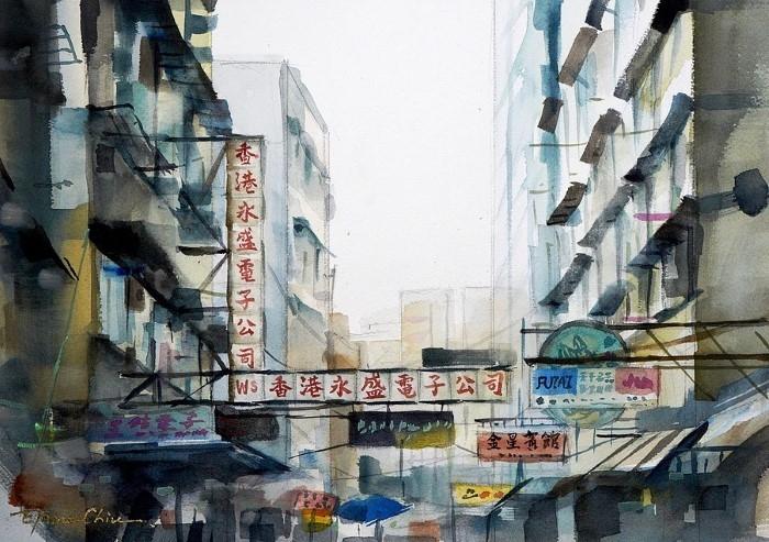 Китайский художник-акварелист.