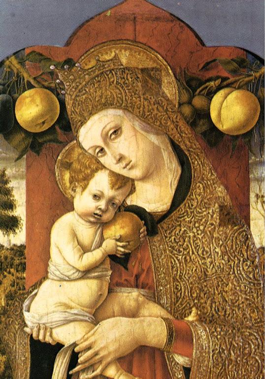 Madonna Lochis, C.Crivelli, Bergamo, Itália