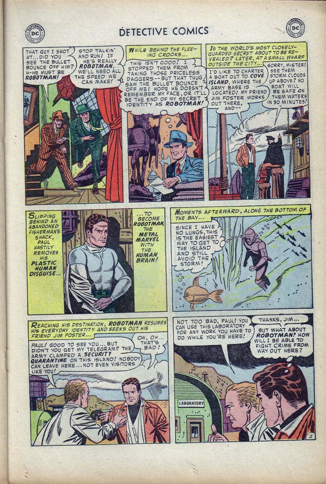 Read online Detective Comics (1937) comic -  Issue #190 - 25