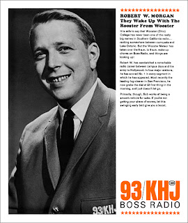 Robert W. Morgan 1965 KHJ Sales Sheet