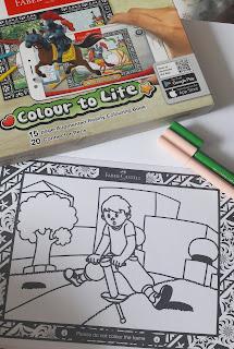 Colour The Dream, Colour To Life Dengan Faber Castell Connector Pens