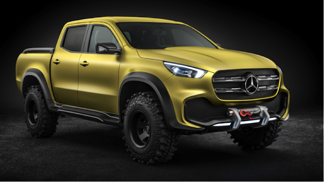 Concept design of Mercedes X-Class Pickup Truck