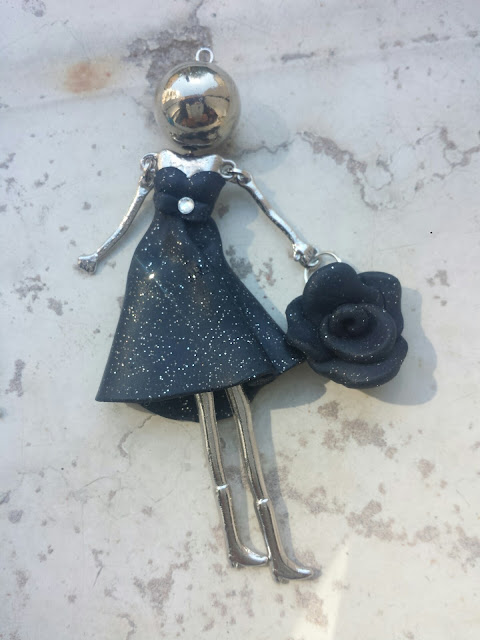 bambolina bijoux collana fimo outfit blog