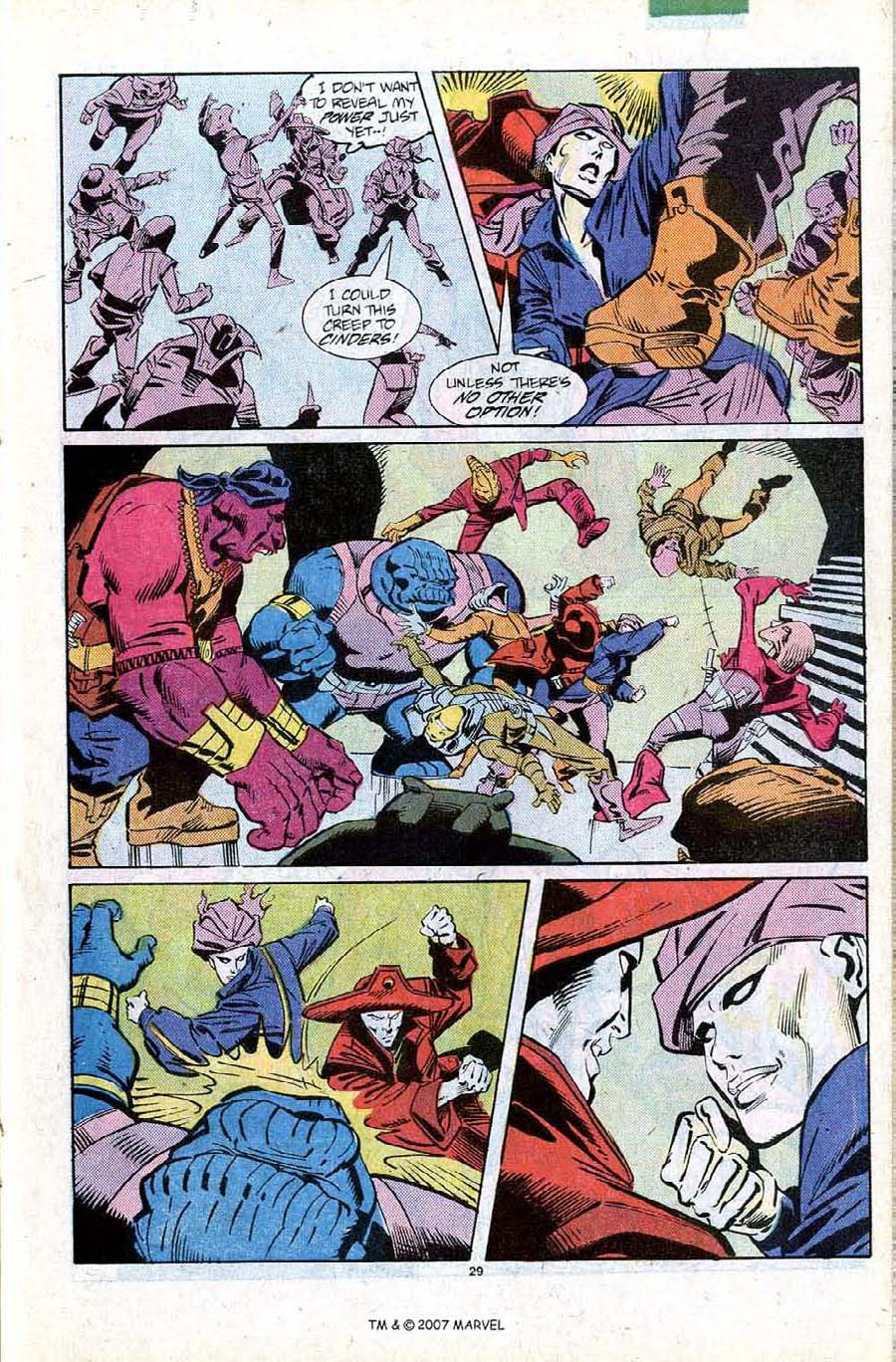 Read online Silver Surfer (1987) comic -  Issue #11 - 31
