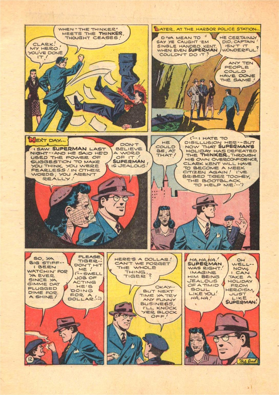 Read online Action Comics (1938) comic -  Issue #70 - 14