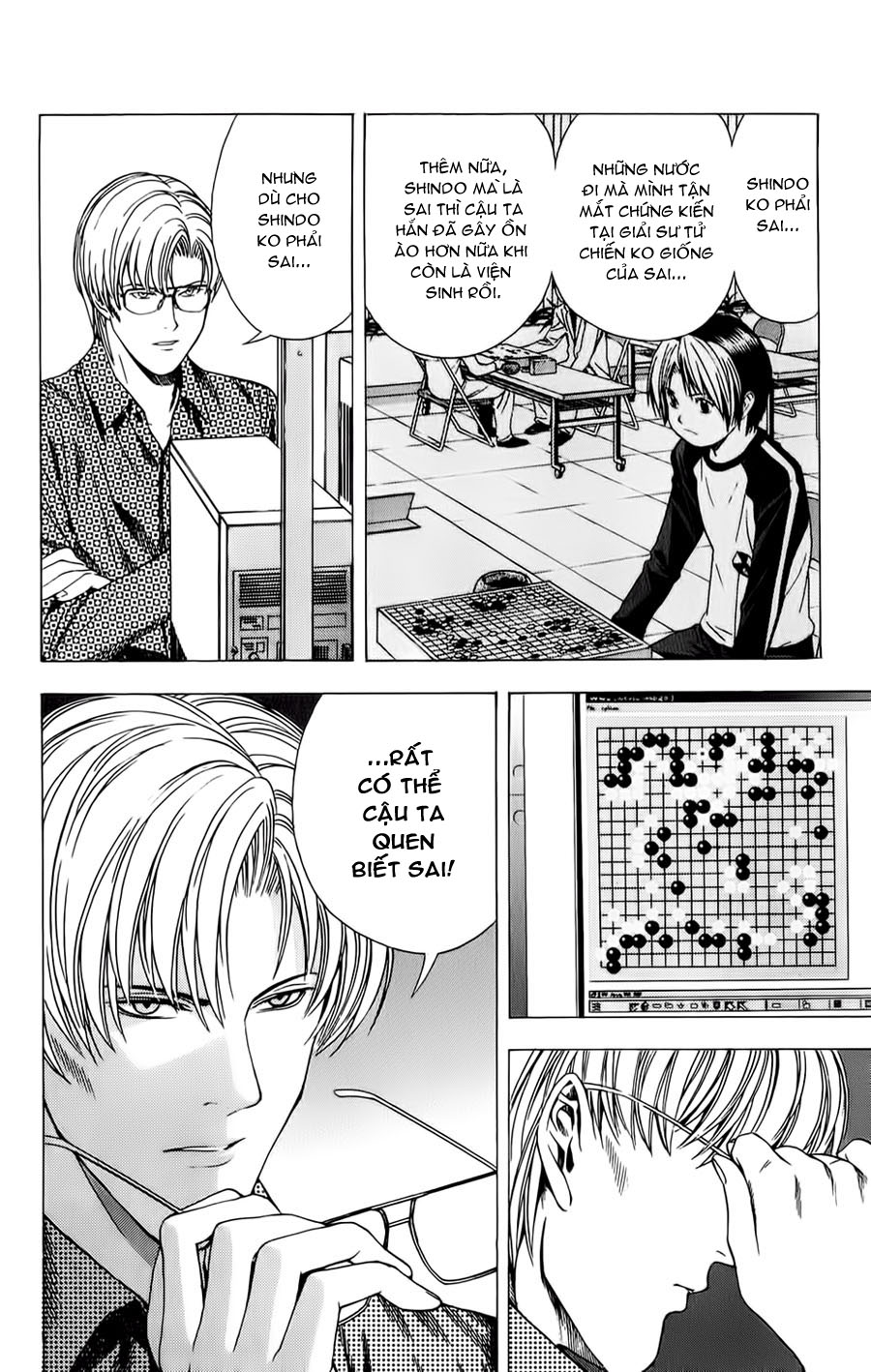 Hikaru No Go hikaru no go chap 115 trang 5