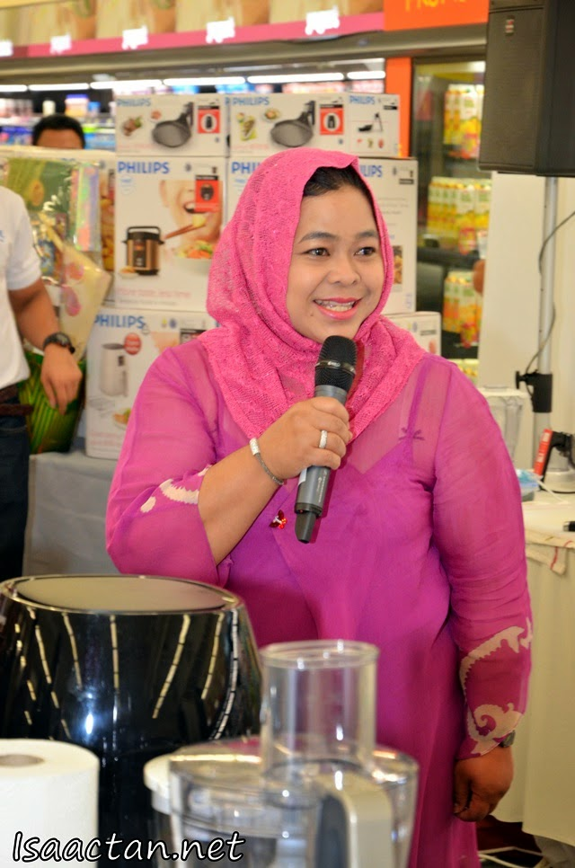 Chef Marina Mustafa was present as judge and gave us cooking tips as well