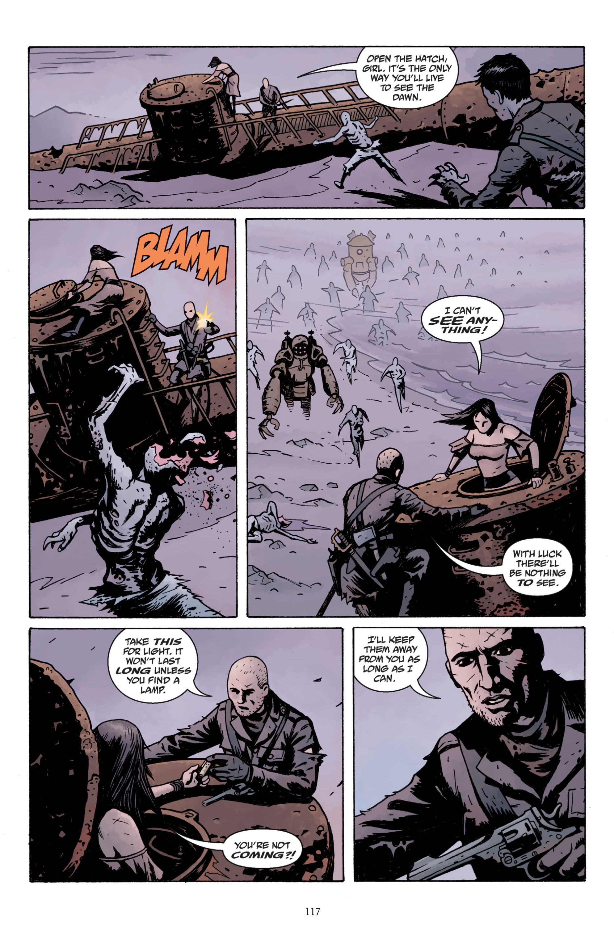 Read online Baltimore: The Plague Ships comic -  Issue # TPB - 116