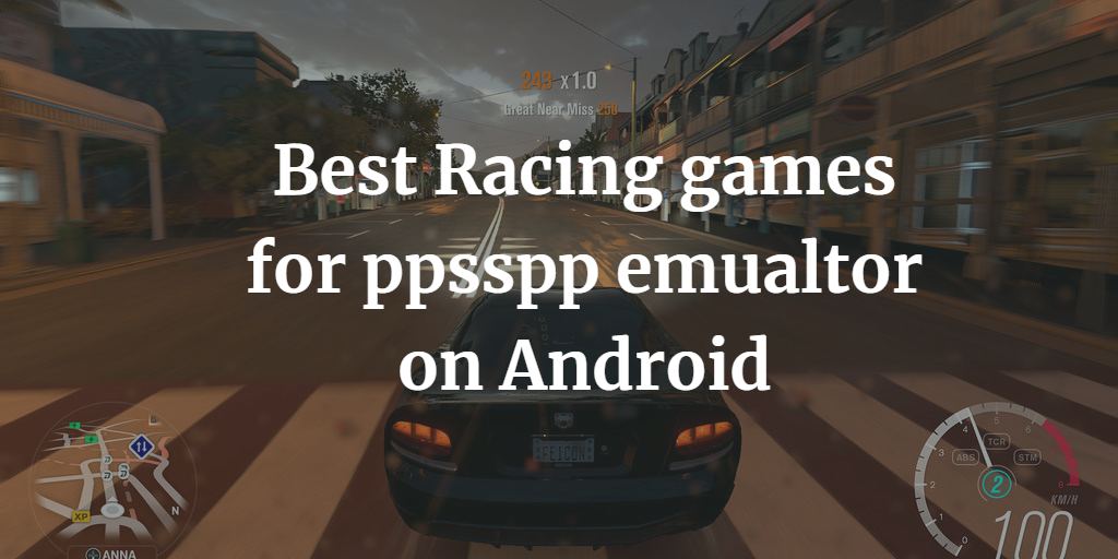 best psp racing games