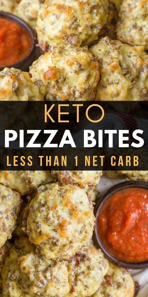 Easy Keto Pizza Bites