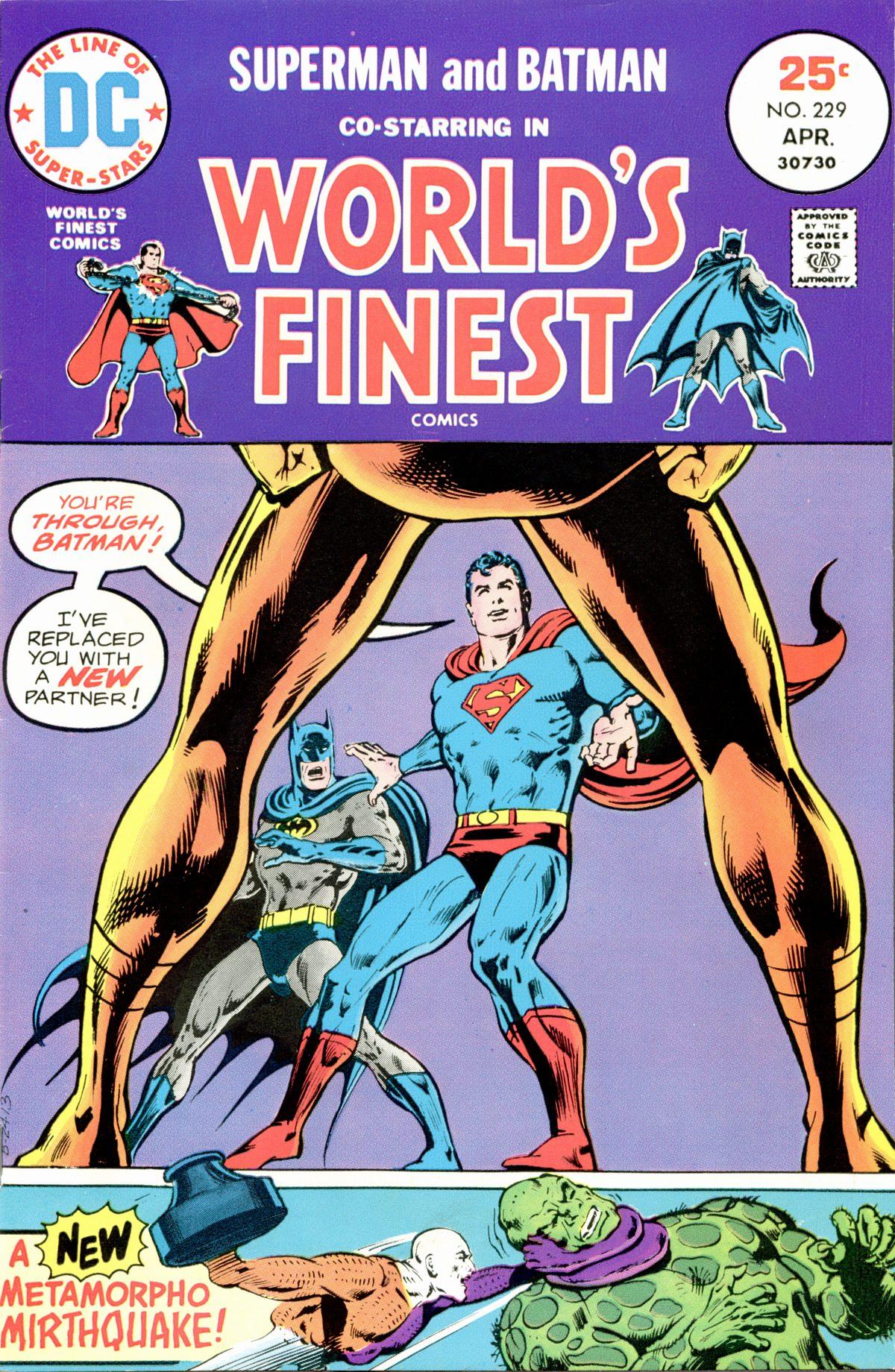 Read online World's Finest Comics comic -  Issue #229 - 1
