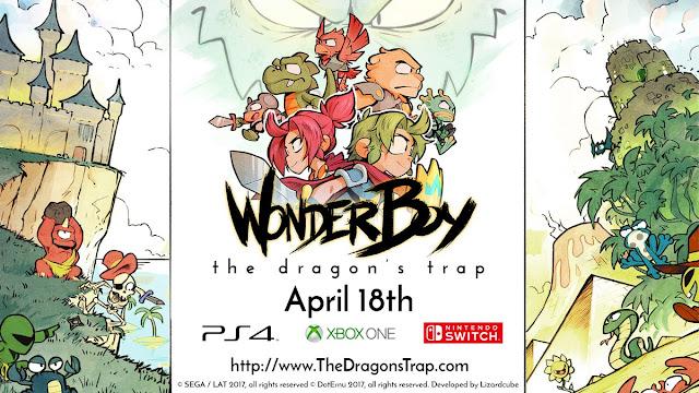 Wonder Boy: The Dragon's Trap ya es gold