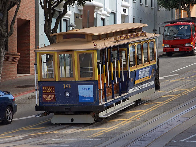 Image: San Francisco Cable Car, by PDPhotos on Pixabay
