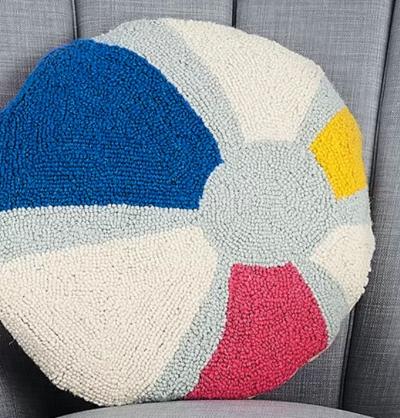 Beach Ball Pillow Design