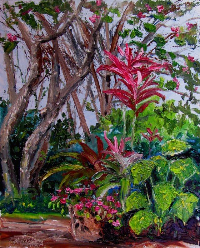 Heathcote Botanical Gardens: Lori's Stormy Art And Daily Paintings: Daily Painting 1359