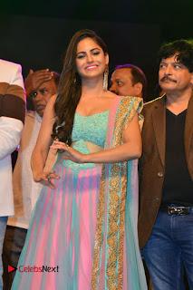 Actress Naina Ganguly Stills in Long Dress at Vangaveeti Audio Launch  0040.JPG