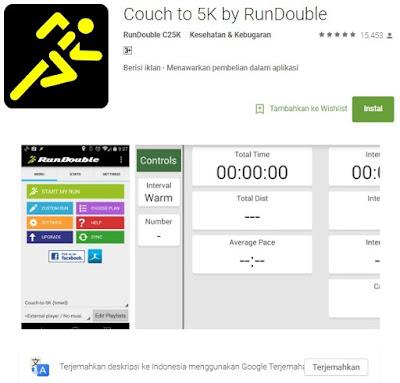 aplikasi olah raga keren pada android