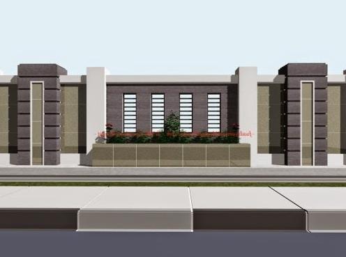 Model Dan Desain Pagar Rumah Minimalis Modern Terbaru Rumah Minimalis