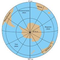 Географско положение на Антарктида