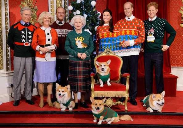 Zoom sobre as mais belas malhas de Natal de celebridades