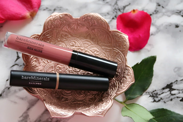 bareMinerals BAREPRO Concealer & GEN NUDE Lip Lacquer from World Duty Free Review