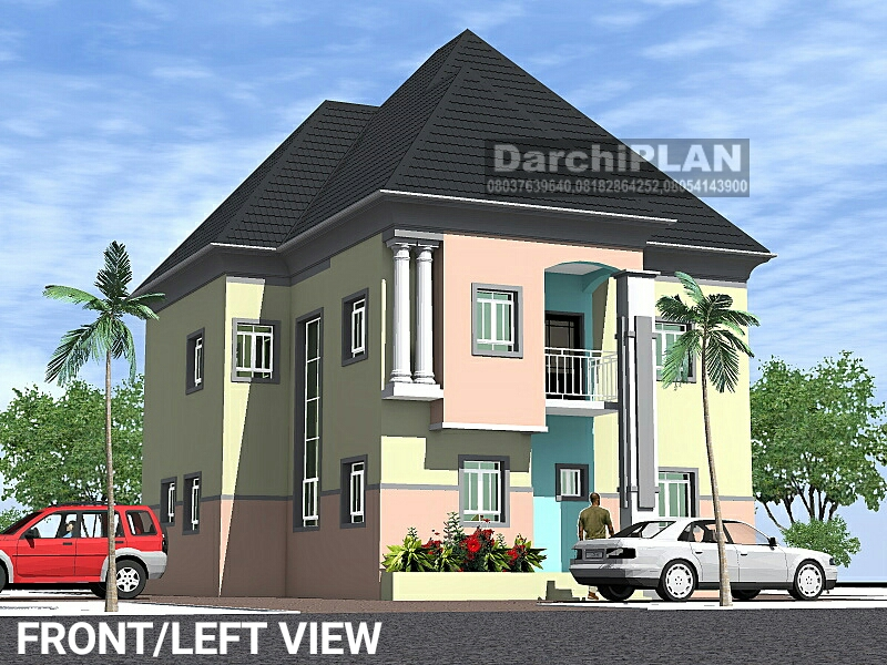 Nigeria building style architectural designs by darchiplan for Interior decoration nairaland