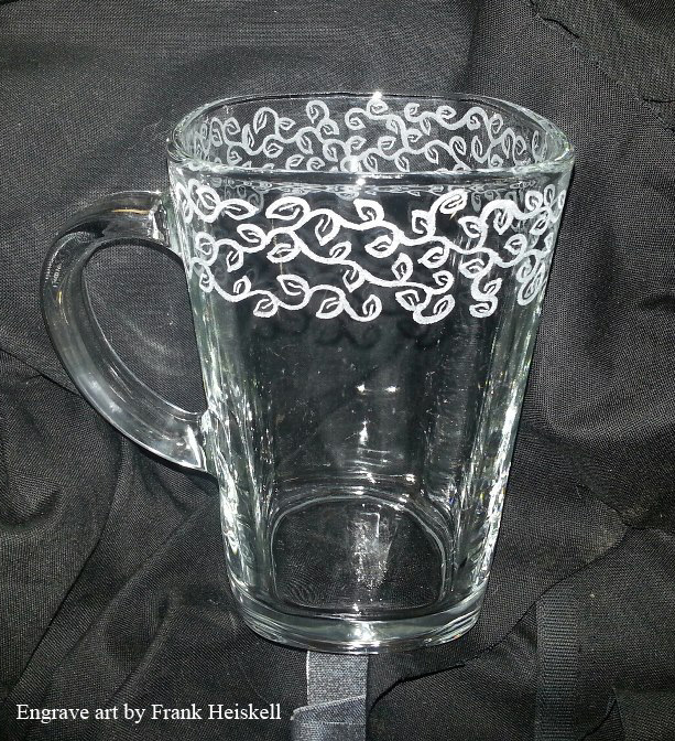 Learn to carve glass: How to Engrave Glass