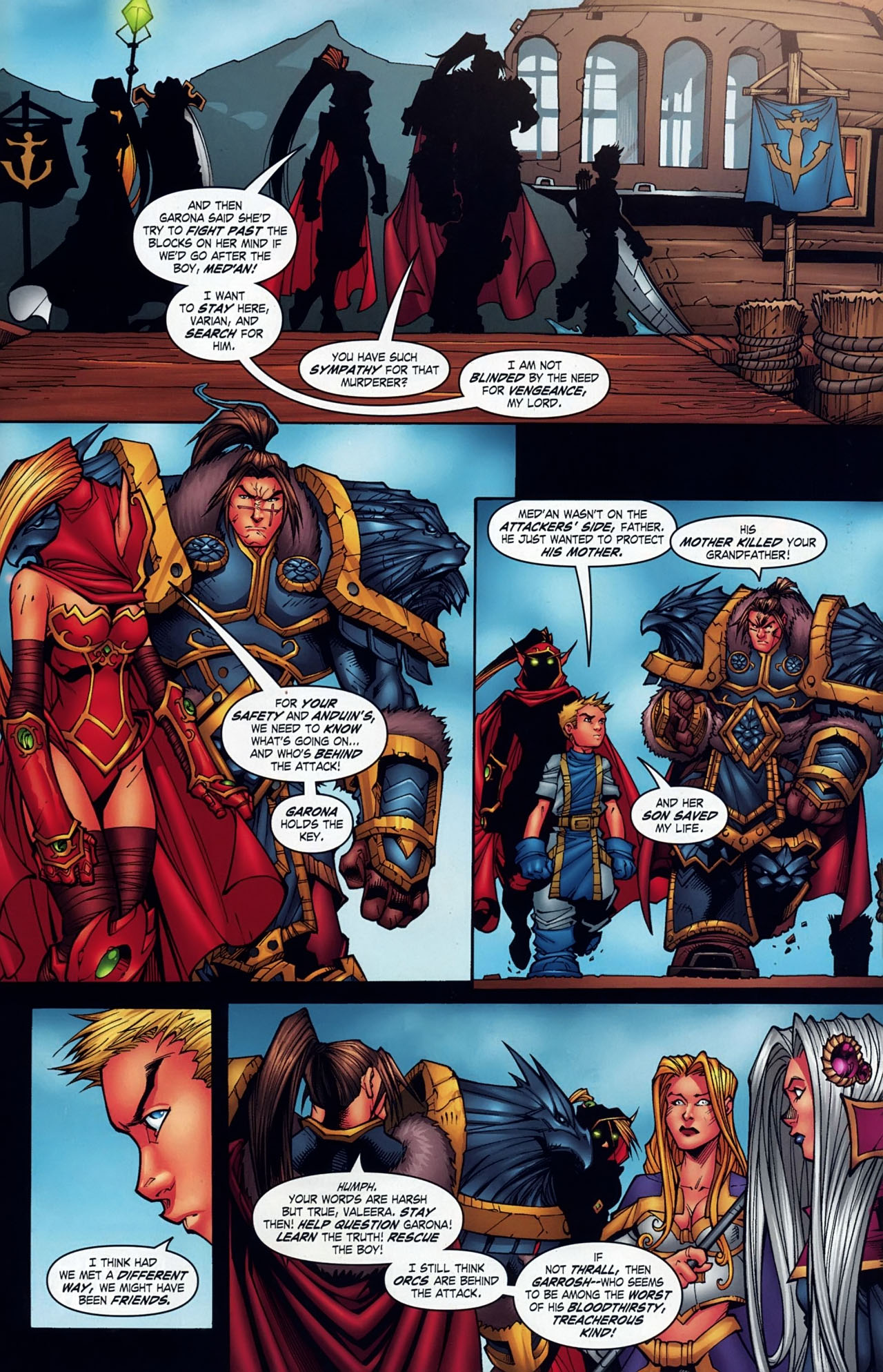 Read online World of Warcraft comic -  Issue #18 - 20