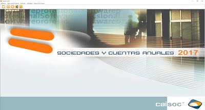CAISOC: software fiscal para el impuesto de Sociedades y Cuentas Anuales