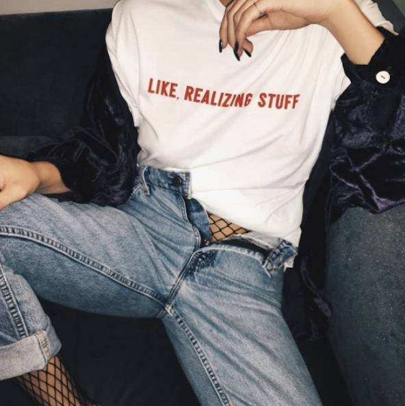 Kylie Jenner - Like Realizing Stuff T-Shirt