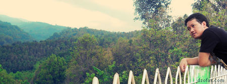 View pegunungan di Hotel Wisata Karya Sanggrahan Sawahan Nganjuk