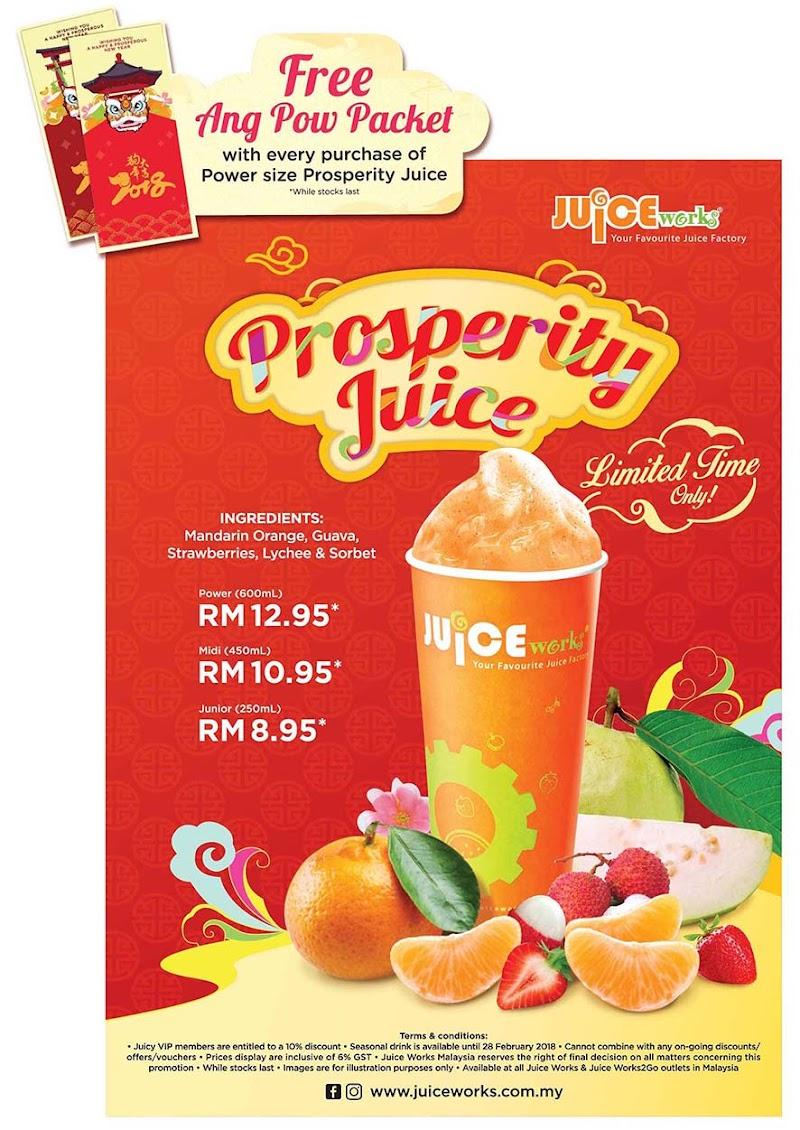 The Prosperity Juice is BACK!