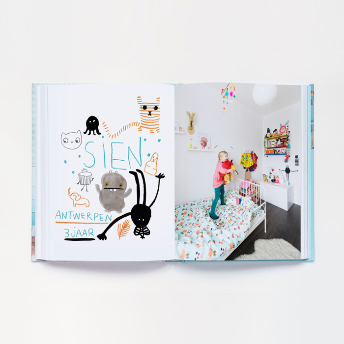 """ Mini Woonboek""   book about kids deco in Belgium, Netherlands and Engeland"