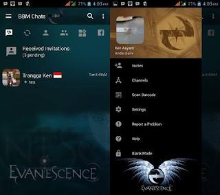 Download Kumpulan Tema BBM Transparan Terbaru v3.2.5.12 APK 2017