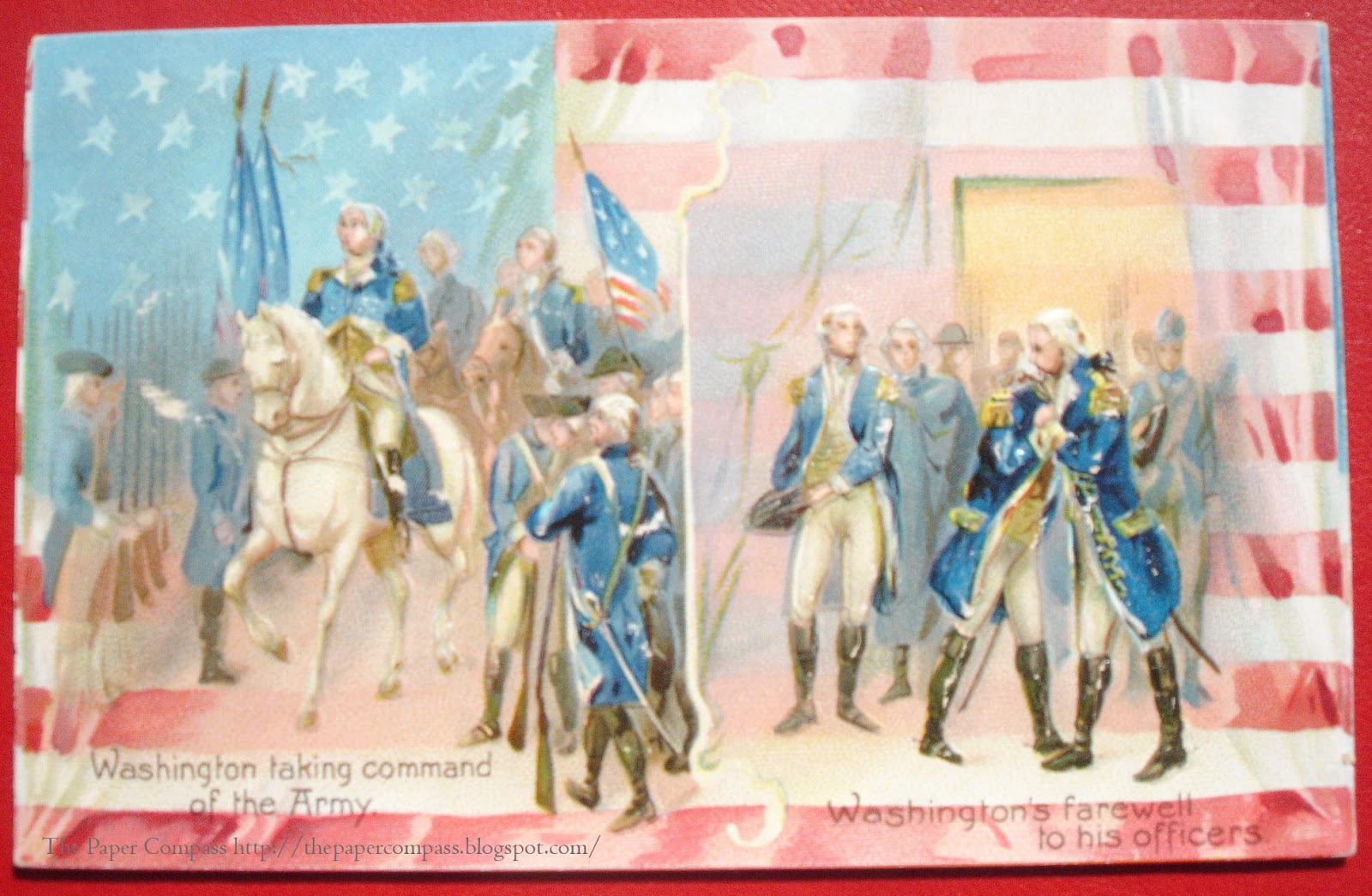 ... patriotic postcards that are rich with history that goes beyond their  images. I found these this spring on at an antique store on Route 19 in  Florida, ...