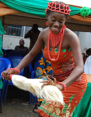 Traditional Wedding Right of Isoko People in Delta State Nigeria 1