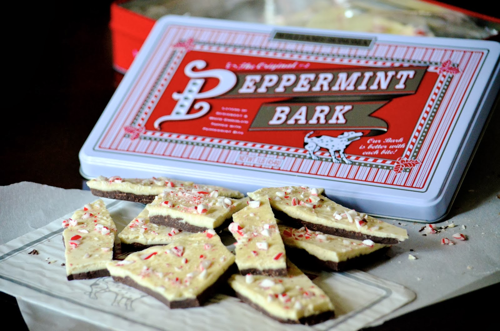 williams sonoma peppermint bark recipe