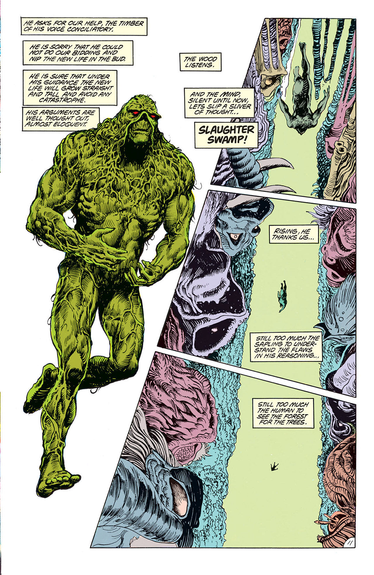Swamp Thing (1982) Issue #67 #75 - English 13